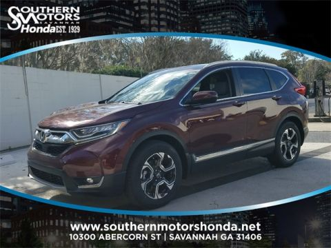 New 2018 Honda CR-V Touring With Navigation