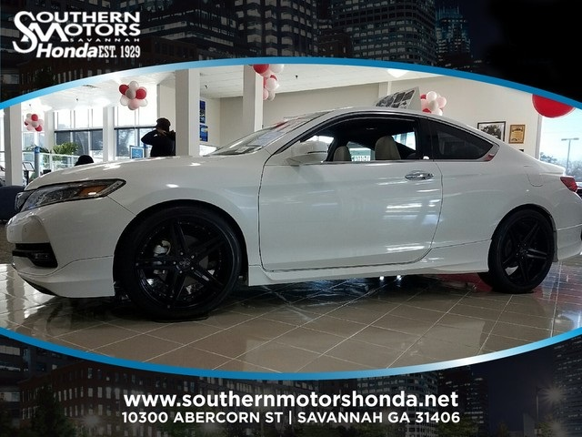 New 2017 Honda Accord Touring 2d Coupe In Savannah H13243