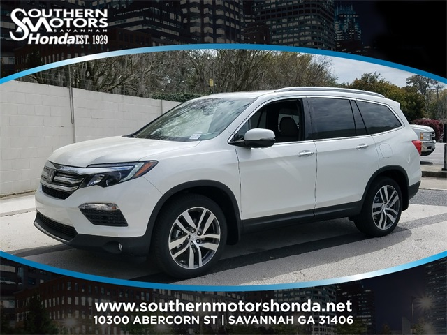 New 2018 Honda Pilot Touring 4d Sport Utility In Savannah