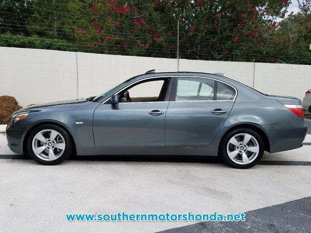 pre-owned 2007 bmw 5 series 530i 4d sedan in savannah #n333b